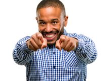 Handsome african american man royalty free stock images