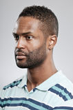 African American Man Blank Expression Royalty Free Stock Photo