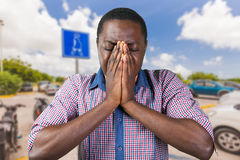 African american man Stock Photography