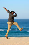 African American man dancing Stock Photos