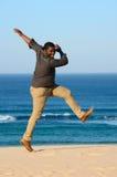 African American man dancing stock photos