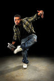 African American Man Dancing Royalty Free Stock Photography