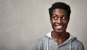 African-American man face Royalty Free Stock Image