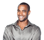African American man smiling Royalty Free Stock Photo