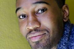 African-American Man, Smiling Stock Photos