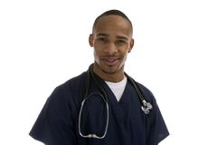 African American Medical Professional Royalty Free Stock Photography
