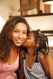 African american mother and daughter portrait Royalty Free Stock Photo