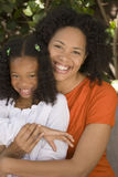 African American mother and her daugher. Royalty Free Stock Photos