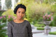 African american muslim woman Stock Photo