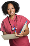 African American Nurse Royalty Free Stock Photos
