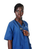 African american nurse Stock Photography