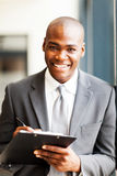 African american office worker Royalty Free Stock Photos