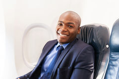 African american passenger Stock Photo