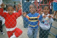 African-American preschoolers Stock Photo