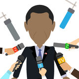 African american president. Stock Photography