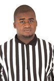 African American referee in uniform Stock Photography