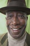 African American Senior Man Wearing Hat Royalty Free Stock Photos