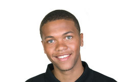 African American Smiling stock photography
