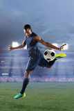 African American Soccer Player Royalty Free Stock Image