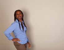 African American Spokeswoman Royalty Free Stock Image