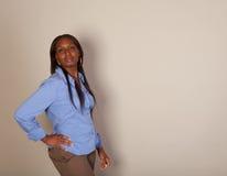 African American Spokeswoman Royalty Free Stock Image