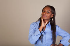 African American Spokeswoman Royalty Free Stock Photo