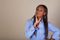 African American Spokeswoman Royalty Free Stock Photo