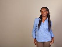 African American Spokeswoman Stock Photography