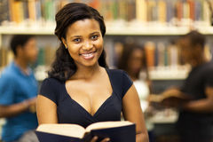 African american student Royalty Free Stock Images