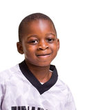 African American Student. A young african American student ready for school Royalty Free Stock Photography