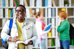 African-american student Stock Photo