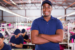 African american supervisor Royalty Free Stock Image