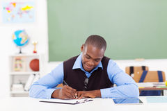 African american teacher Royalty Free Stock Photos