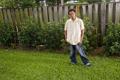 African American teenage boy Stock Photo