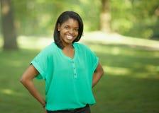 African-American teenage woman Stock Photography