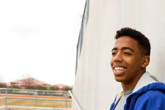 African American Teenager. Royalty Free Stock Image