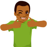 African American Thumbs Up Man Royalty Free Stock Image