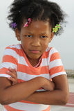African-American Toddler Girl Royalty Free Stock Image