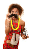 African-American Tourist Stock Images