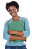 African-American university student Stock Image