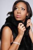 African-American woman.2. Imagens de Stock