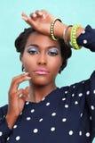 african american woman Στοκ Εικόνα