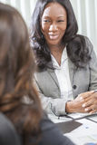 African American Woman or Businesswoman in Meeting Royalty Free Stock Images