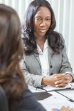 African American Woman or Businesswoman in Meeting Royalty Free Stock Photography