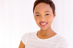 African american woman closeup Royalty Free Stock Photo