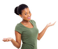 African american woman Royalty Free Stock Photo