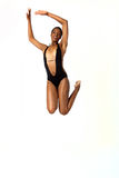 African American woman in swimsuit Stock Photography