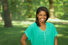 African American young woman Royalty Free Stock Image