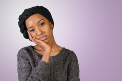 African american young woman Stock Image