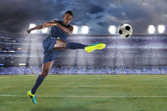 African AmericanSoccer Player Stock Photos